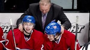 Un coach du Canadien qui fait confiance aux jeunes. Il était temps... (Photo : PC)